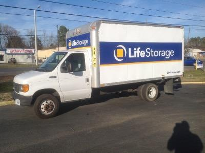 Truck rental available at Life Storage at 3248 S Military Hwy in Chesapeake