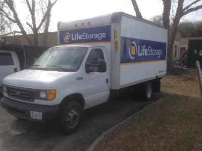 Truck rental available at Life Storage at 517 Volvo Pkwy in Chesapeake
