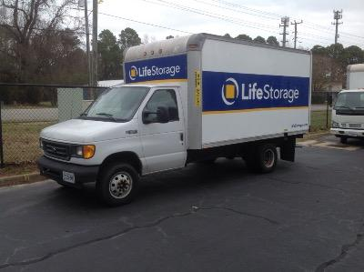 Truck rental available at Life Storage at 4929 Shell Road in Virginia Beach