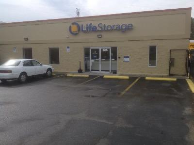 Storage buildings at Life Storage at 385 S. Naval Base Road in Norfolk