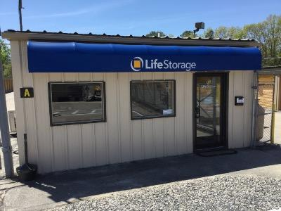Storage buildings at Life Storage at 872 Church Street Ext in Northbridge