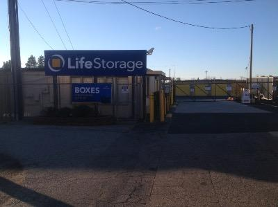 Life Storage Buildings at 5810 W Gate City Blvd in Greensboro