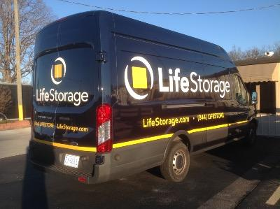 Truck rental available at Life Storage at 5810 W Gate City Blvd in Greensboro