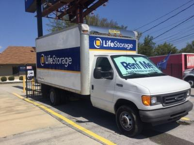 Truck rental available at Life Storage at 4429 Highway 58 in Chattanooga