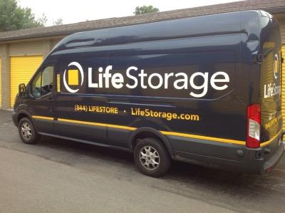 Truck rental available at Life Storage at 3942 Youngstown Rd SE in Warren