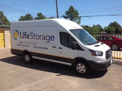 Truck rental available at Life Storage at 3433 Fry Rd in Katy