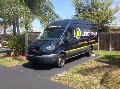 Truck rental available at Life Storage at 7901 Sheridan Street in Hollywood