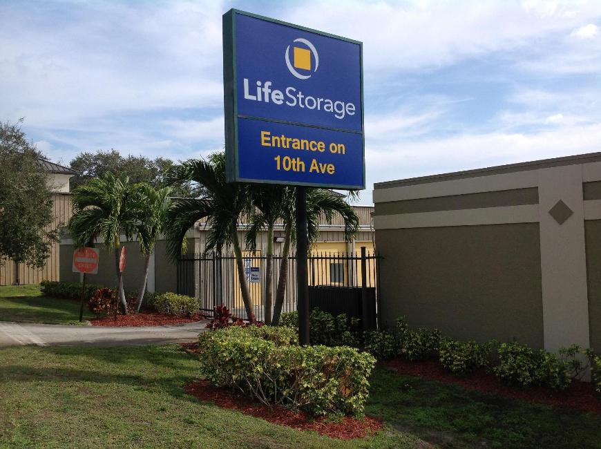 Miscellaneous Photograph Of Life Storage At 1655 10th Avenue In Vero Beach