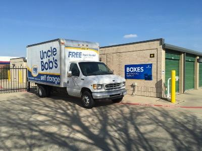 Truck rental available at Life Storage at 2300 Old Denton Road in Carrollton