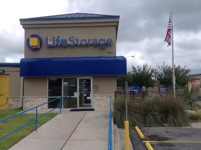 Storage buildings at Life Storage at 1620 S Interstate 35 in San Marcos