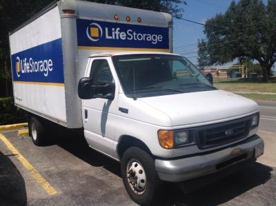 Truck rental available at Life Storage at 5547 McNeil Drive in Austin