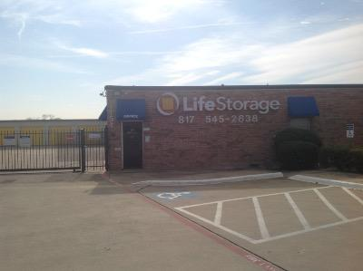 Storage buildings at Life Storage at 1151 W Euless Blvd in Euless