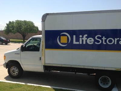 Truck rental available at Life Storage at 1151 W Euless Blvd in Euless