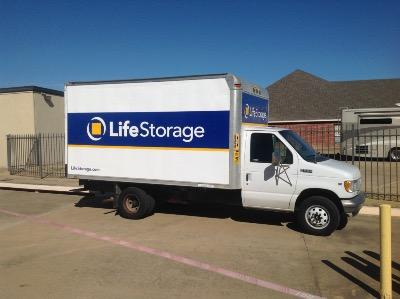 Truck rental available at Life Storage at 5575 Davis Blvd in North Richland Hills