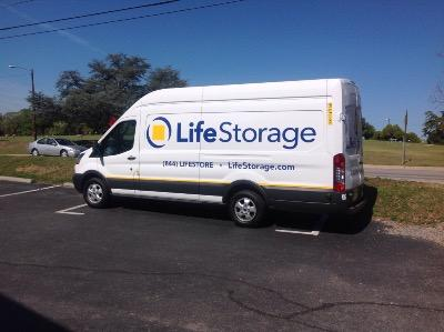 Truck rental available at Life Storage at 2648 Two Notch Road in Columbia