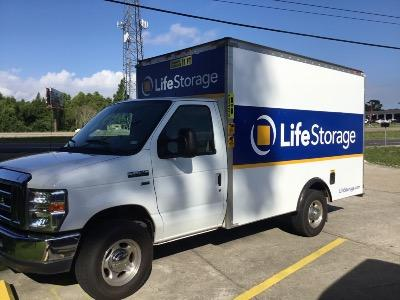 Truck rental available at Life Storage at 2888 NE Evangeline Trwy in Lafayette