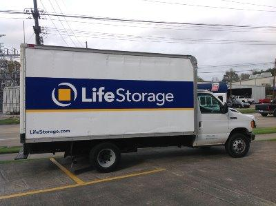 Truck rental available at Life Storage at 313 Guilbeau Road in Lafayette
