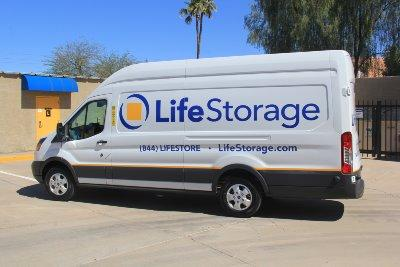 Truck rental available at Life Storage at 375 East Elliot Road in Gilbert