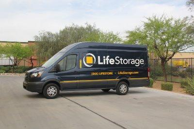 Truck rental available at Life Storage at 1356 E Baseline Rd in Mesa