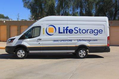 Truck rental available at Life Storage at 837 E Broadway Rd in Mesa