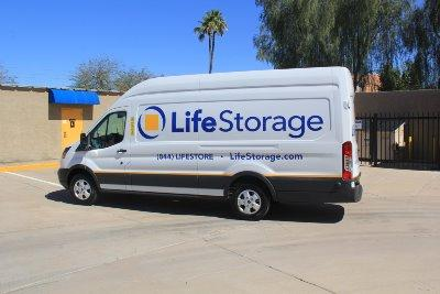 Truck rental available at Life Storage at 545 W Broadway Rd in Mesa