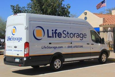 Truck rental available at Life Storage at 139 N Greenfield Rd in Mesa