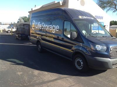 Truck rental available at Life Storage at 20001 N 35th Ave in Phoenix