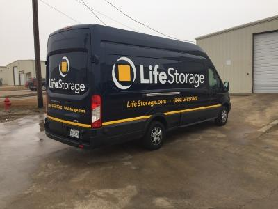 Truck rental available at Life Storage at 150 North Clark Road in Cedar Hill