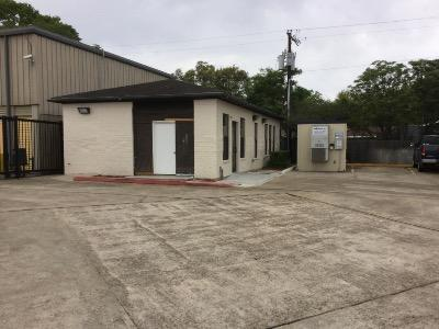 Storage buildings at Life Storage at 2410 E Main St in League City