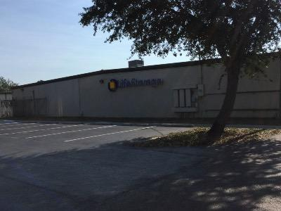 Storage buildings at Life Storage at 800 Abrams Blvd in Lehigh Acres