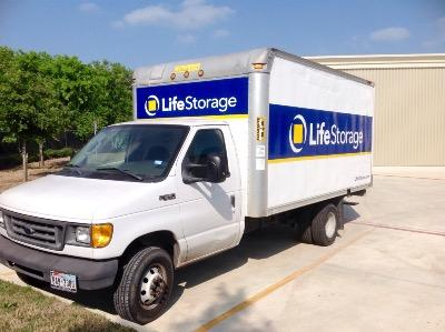 Truck rental available at Life Storage at 3536 Hunt Lane in San Antonio