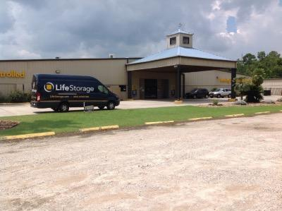Storage buildings at Life Storage at 5250 FM 1960 East in Humble