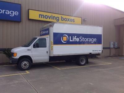 Truck rental available at Life Storage at 188 S LHS Dr in Lumberton