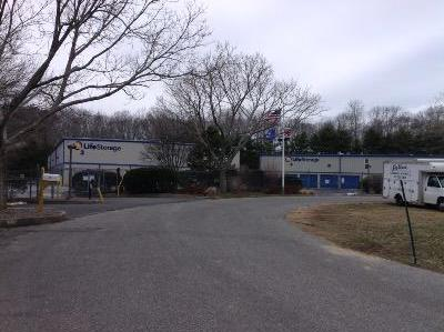 Storage buildings at Life Storage at 9 Hardscrabble Ct in East Hampton