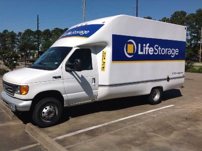 Truck rental available at Life Storage at 8625 Spring Cypress in Spring