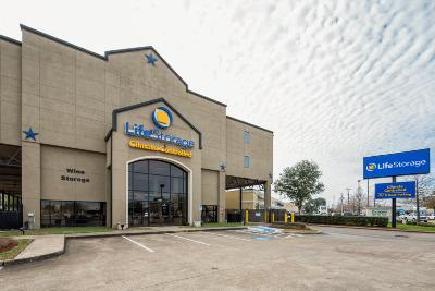 Storage buildings at Life Storage at 5415 Bissonnet St in Houston