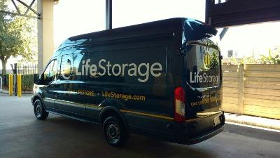 Truck rental available at Life Storage at 5415 Bissonnet St in Houston