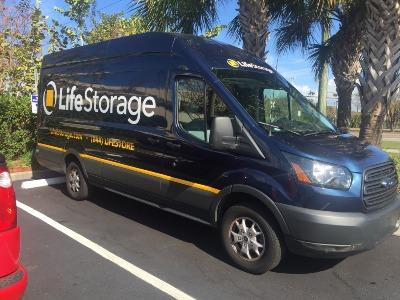 Truck rental available at Life Storage at 1426 N McMullen Booth Rd in Clearwater