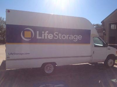 Truck rental available at Life Storage at 4717 Cartwright Road in Missouri City