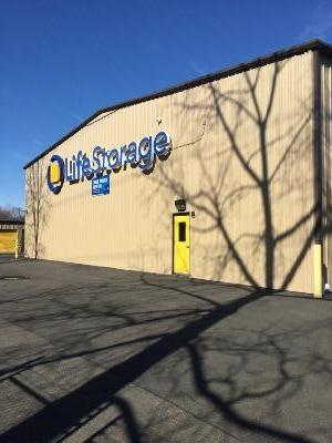 Storage buildings at Life Storage at 30 Stillman Rd in North Haven