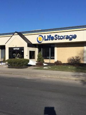 Storage buildings at Life Storage at 40 Congress St in Springfield