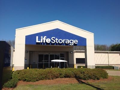 Storage buildings at Life Storage at 3650 Richard Rd in Montgomery