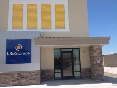 Storage buildings at Life Storage at 9717 E US Highway 290 in Austin