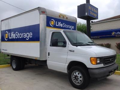 Truck rental available at Life Storage at 10260 Marbach Rd in San Antonio