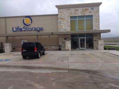 Storage buildings at Life Storage at 2216 S Interstate 35 in San Marcos