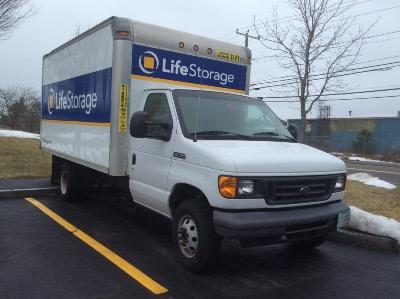 Truck rental available at Life Storage at 1902 Wellington Rd in Manchester