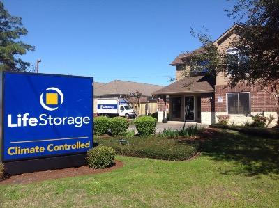 Storage buildings at Life Storage at 3200 General DeGaulle Dr in New Orleans