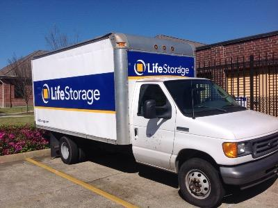 Truck rental available at Life Storage at 3200 General DeGaulle Dr in New Orleans