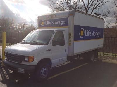 Truck rental available at Life Storage at 450 W Washington St in Florissant
