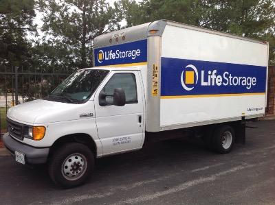 Truck rental available at Life Storage at 6355 Howdershell Rd in Hazelwood